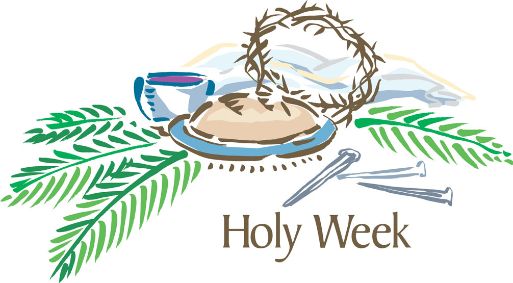 (RCL) and the Holy Week liturgies of the Book of Common Prayer