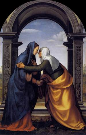 Visitation Elizabeth to Mary