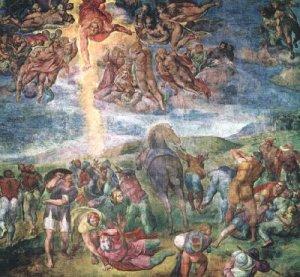 Michelangelo-Conversion-of-St-Paul-1542-50